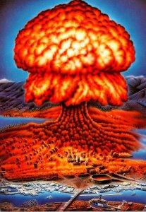 Humour Atomic Bomb Art Nuko Exposing Myself To Explosion