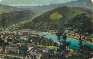 Děčín Czech R. Tetschen-Bodenbach Schaferwand mit Spitzberg u. Rotental