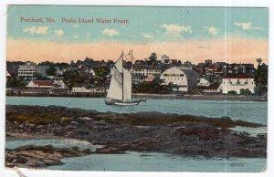 Portland, me, Peaks Island Water Front