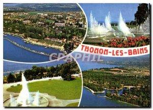 Modern Postcard Thonon les Bains Haute Savoie
