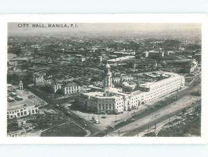 Pre-1950 rppc NICE VIEW Manila Philippines i3661