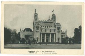 Belgium, Antwerpen, Anvers, Le Palais du Congo, 1930 unused Postcard