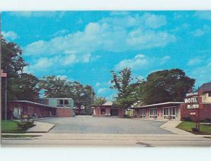 Pre-1980 WATER LAND MOTEL Traverse City Michigan MI M3161