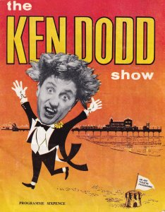 The Ken Dodd Show 1960s Great Yarmouth Norfolk Theatre Programme