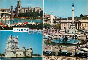 Postcard Modern Lisboa
