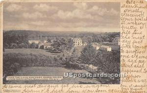 The Lake and West Shore House Lake Huntington NY 1906