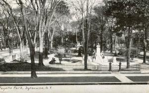 NY - Syracuse. Fayette Park