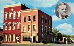 Bloomfield Iowa 1960s Postcard Schuyler Colfax Odd Fellows Lodge Home