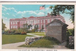 Massachusetts Amesburt High School and The Captain's Well Cu...