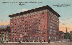 CLEVELAND, Ohio; New Central Y. M. C. A., Prospect Avenue and East 22nd Stree...