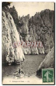 Postcard Old Creek of Oule