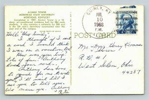 Morehead KY-Kentucky, Alumni Tower, Morehead University, Chrome c1968 Postcard