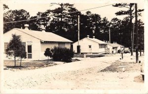 Fort Oglethorpe Georgia MP Headquarters Real Photo Vintage Postcard JF686476