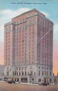 Tennessee Knoxville Hotel Andrew Johnson 1939
