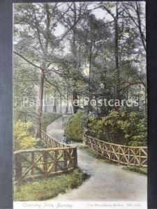 Lancashire BURNLEY Towneley Park c1904 by The Woodbury Series 1124