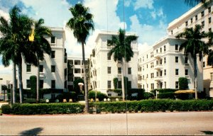 Florida West Palm Beach The Lake Court Hotel and Apartments 1960