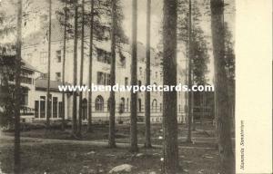finland suomi, NUMMELA, Sanatorium (1911) Russian Stamp (2)