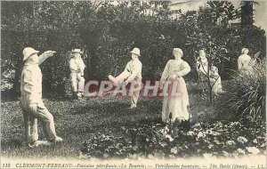 Old Postcard Clermont Ferrand Fountain Petrifying