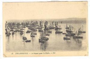 DOUARNENZ, Le Deport pour la Peche, 10-20s