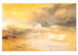 JMW Turner - Waves Breaking