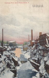AKRON, Ohio, PU-1910; Cuyahoya River Above Glens