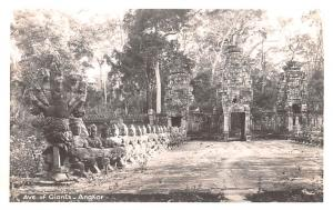 Angkor Cambodia, Cambodge Ave of Giatns Angkor Ave of Giatns