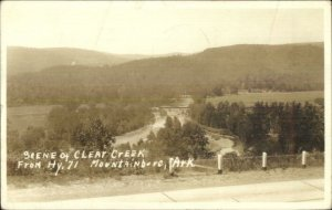 Mountainburg AR Clear Creek From HWY 71 Real Photo Postcard