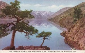Washington Lake Chelan 55 Miles Of Fresh Water Beauty In The Cascade Mountain...