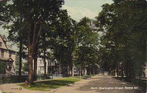 New York Rome North Washington Street 1917