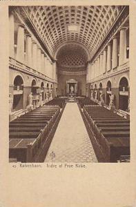 Interior, Indre af Frue Kirke, Kobenhavn, Denmark, 00-10s