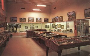 Postcard Geology and Fossil Hall Field House of Natural History Vernal Utah