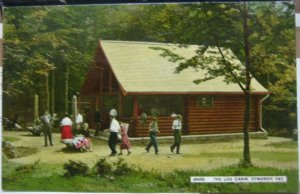England The Log Cabin Symonds Yat - posted 1970