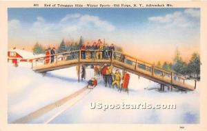 Toboggan Slide Old Forge NY Unused