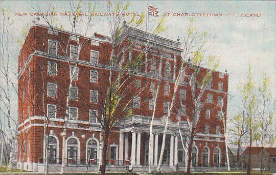 Canada Charlottetown New Canadian National Railways Hotel 1933 Prince Edward ...