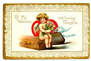 Greeting - Valentine.  (Tuck Series No. 1, Cupids)