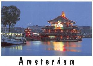 Netherlands Amsterdam Sea Palace Boat Bateau