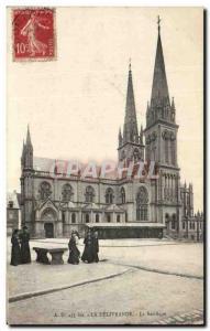 Old Postcard ND The Delivrande Basilica Priests