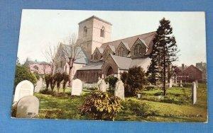 Vintage  Postcard  St. Edmunds Church Northamptonshire K1G