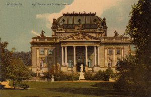 Wiesbaden, Germany, 1900-1910s ; Kgl Theater