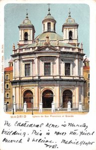 Iglesia de San Francisco el Grande Madrid Spain Postal Used Unknown