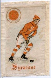 Syracuse University Hockey Player Sports Murad Cigarettes Silk Non PC AA1433