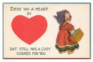 Dutch Kids Heart Dat Still Has Cosy Corner For You Postcard