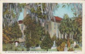 South Carolina Beaufort Saint Helena Episcopal Church