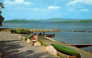 Maine Rangeley Lake State Park Marina