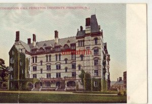 pre-1907 WITHERSPOON HALL, PRINCETON UNIVERSITY, NEW JERSEY