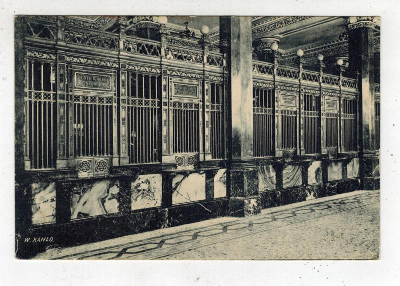 Mint Mexico RPPC Postcard Mexico City Post Office by Guillermo Kahlo Frida's Dad