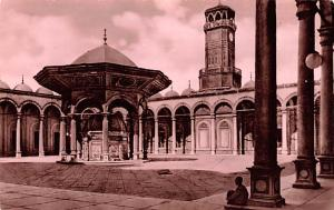 Cairo Egypt, Egypte, Africa Courtyard of Mohamed Aly Mosque Cairo Courtyard o...