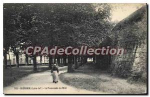 Postcard The Old Guerande Inf La Promenade du Midi