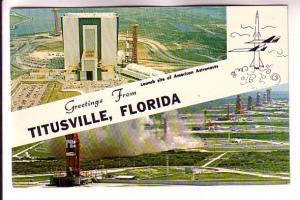 Apollo Saturn V Facilities, Astronaut Launch Site, Kennedy Space Centre, Titu...