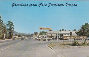 COVE JUNCTION , Oregon , 50-60s ; Main Street